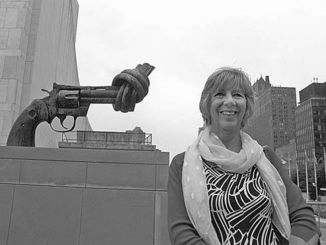 Dr. Cynthia Miller at the United Nations