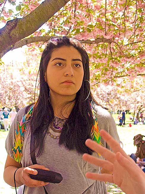 Student, Brooklyn International, April, 2010