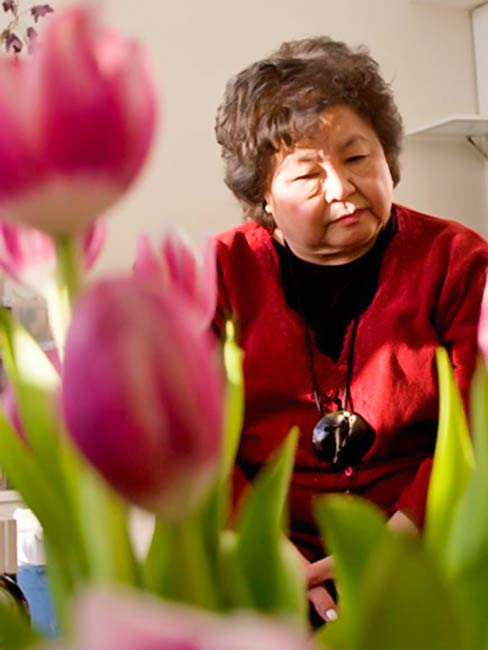 Setsuko Thurlow, December, 2010