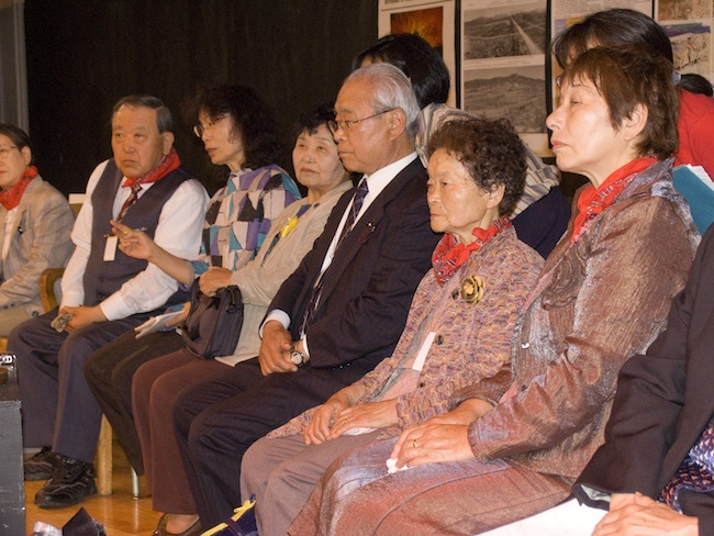 Nagasaki hibakusha, May, 2010