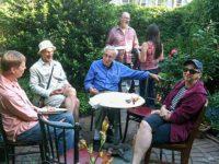 Keith Gemerek, Tom Fuhs, Gunther Moses, Ken Cooper and Linda Chapman, May, 2010