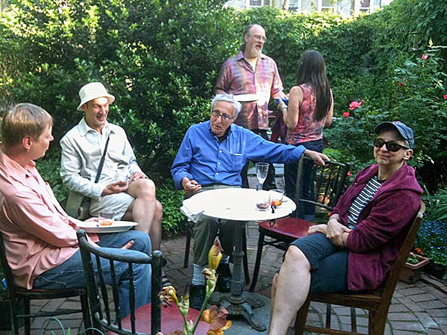 Keith Gemerek, Tom Fuhs, Gunther Moses, Ken Cooper and Linda Chapman, May, 2010