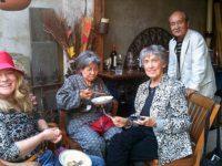 Kathleen Sullivan, Shigeko Sasamori, Joanna Macy and Hirosi Iso, May, 2010