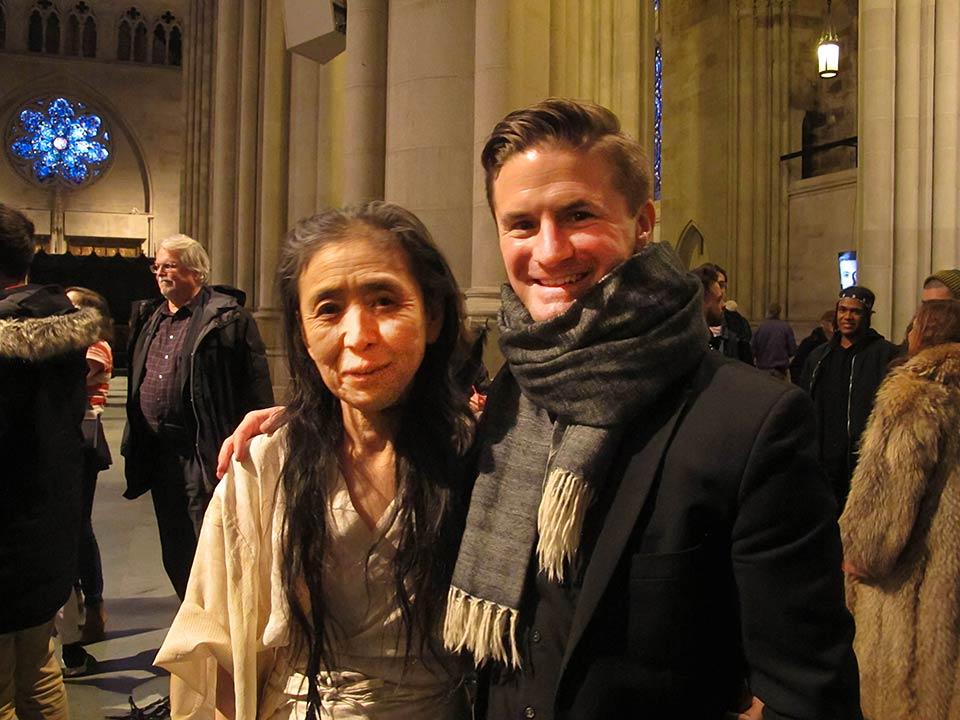 Nathan Snyder & Eiko Otake