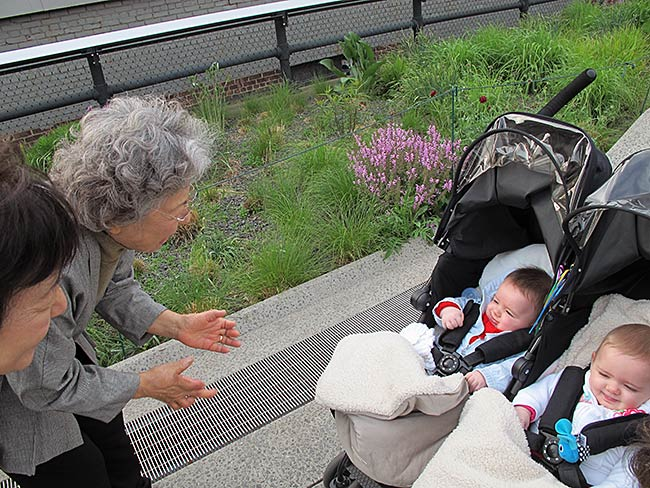Shigeko Sasamori loves babies