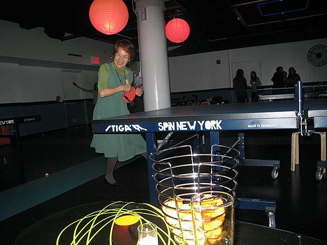 Hiroko Sakaguchi at SPiN New York, December 2011