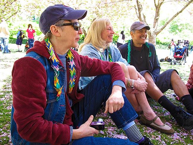 (l to r) Linda Chapman, Carolina Soto, Ray Soto, April, 2010