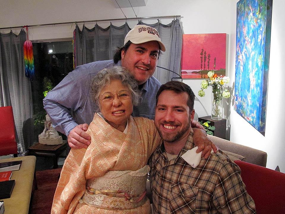 Shigeko Sasamori, Max Parker & Nick Parker