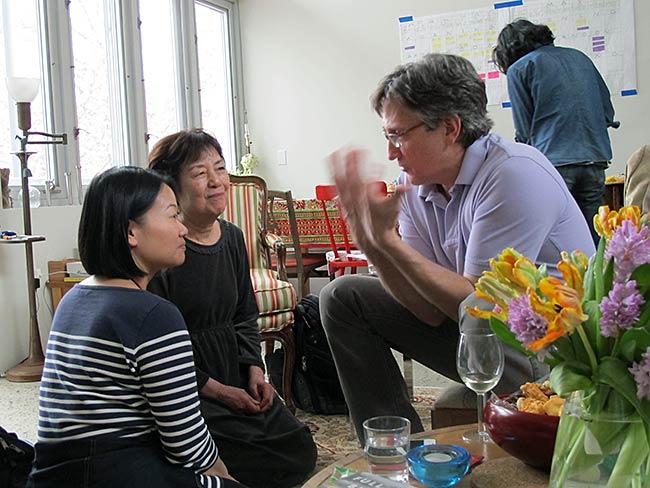 Mia Niwa, Reiko Yamada and Clifton T. Daniel