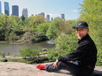 Jong-keun Lee in Central Park, May, 2013