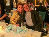 Sandy Parker and Blaise Dupuy at the National Arts Club, May, 2013