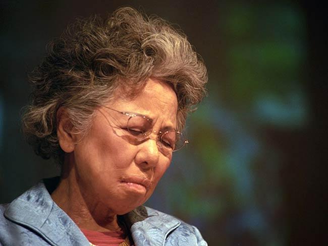 Shigeko Sasamori recalls the suffering