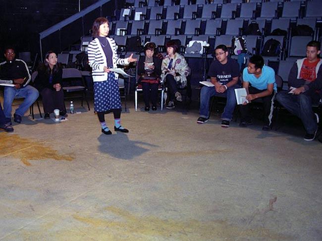 Chiori Miyagawa explains the scope of the day