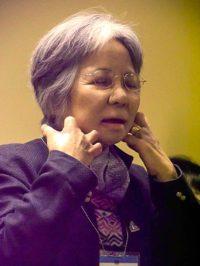 Shigeko Sasamori, May, 2011