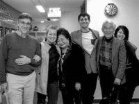 Clifton T. Daniel, Kathleen Sullivan, Setsuko Thurlow, Ari Beser, Yasuaki Yamashita, Marie Cochrane, May, 2013