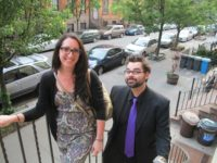 Teresa Tartaglione and Nick Kozak, teachers at Martin Luther King, Jr. Educational Complex, May 2012