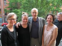 Sally, Bob and Tara Silberberg with Kathleen Sullivan and Steven Watson., May 2012