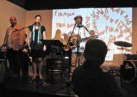 Pika Don concert for the hibakusha at Miles Café, May 2010