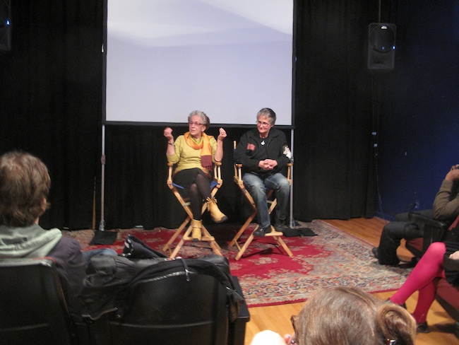 Hibakusha Stories at a screening of Kathy Sloan's film Witness to Hiroshima and M.T. Silvia's film Atomic Mom at Maysles Cinema in Harlem, May 2010