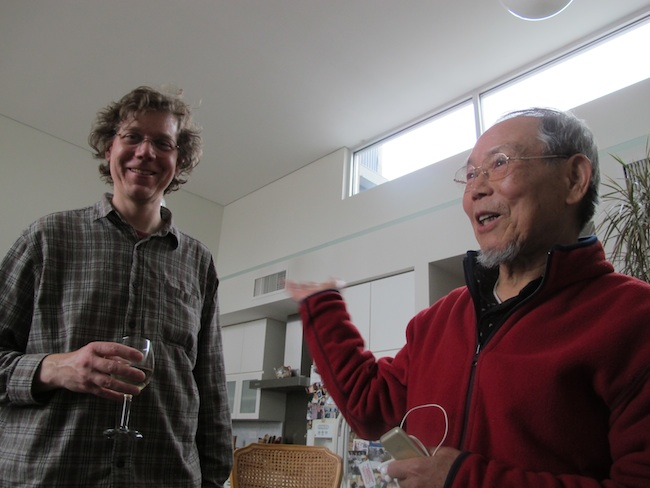 Blaise Dupuy and Jong-keun Lee, May, 2013