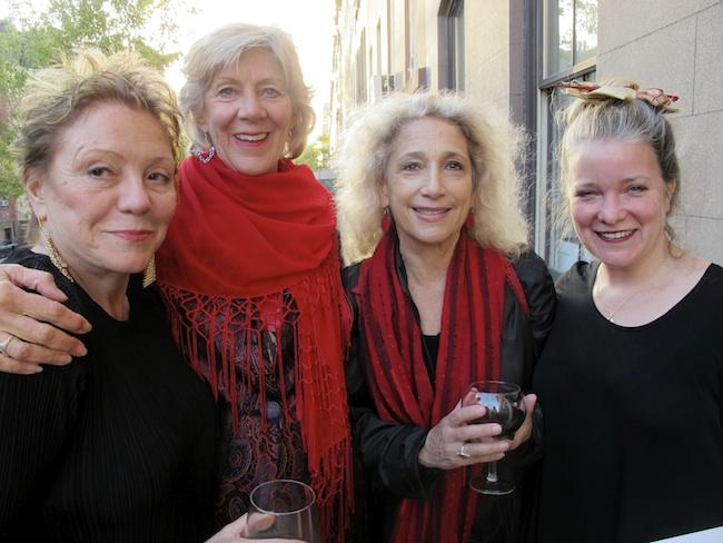 Sandy Parker, Cynthia Miller, Lauren Linowitz, Kathleen Sullivan, May, 2013