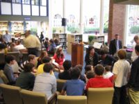 Our very first event. Setsuko Thurlow speaks to the students at Poly Prep Country Day School, October 2008