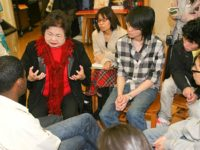 Setsuko Thurlow expresses the magnitude of her experience, December, 2010