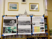 The Hiroshima Peace Culture Foundation generously donates posters to many of the schools we visit, December, 2010