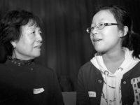 Reiko Yamada and student, May, 2012