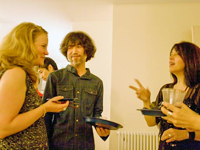 Kathleen Sullivan, Hayato Nakao and Marie Cochrane, May, 2011