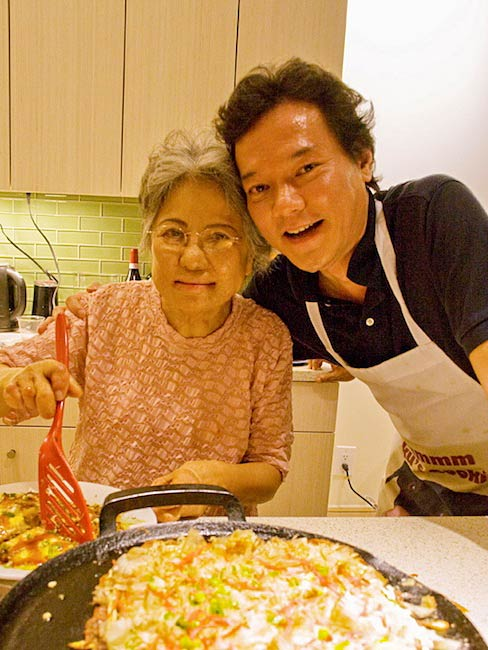 Shigeko Sasamori and Taku Nishimae, May, 2011