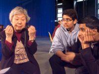 Students listen as Keiko Murakami tells her story, May, 2010