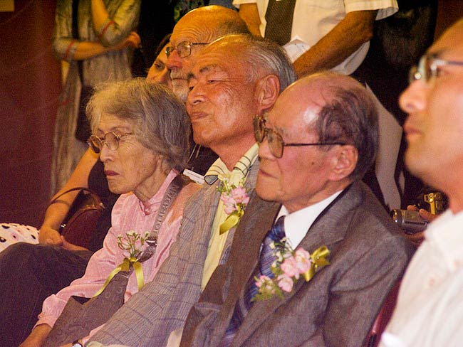 Hibakusha travel the world tirelessly working for a world without nuclear weapons