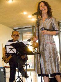 Lucia Pulido and Fukushima Motohito