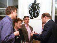 Blaise Dupuy, Sandy Parker and Clifton Daniel