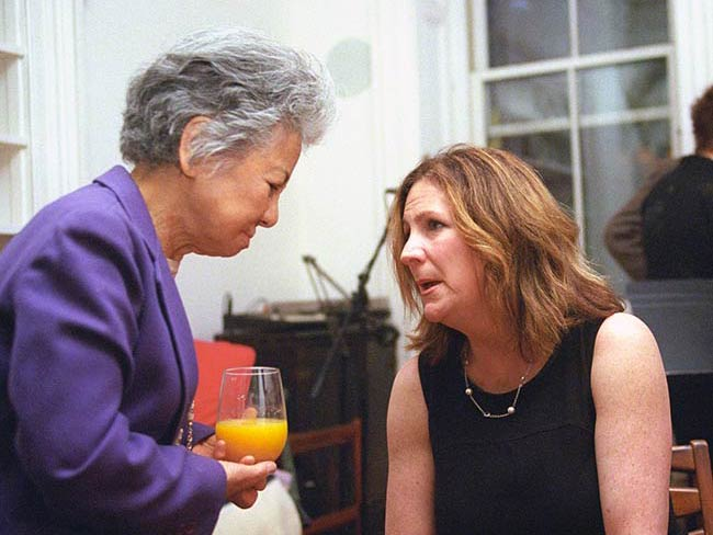 Shigeko Sasamori and Heidi Hutner