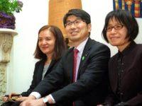 Yayoi MInokawa, Mayor Taue & Miyako Taguchi