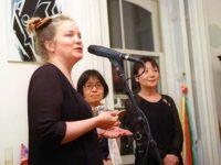 Kathleen Sullivan, Miyako Taguchi, Mitchie Takeuchi
