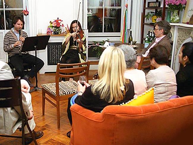 Sam Sadigursky and Friend perform