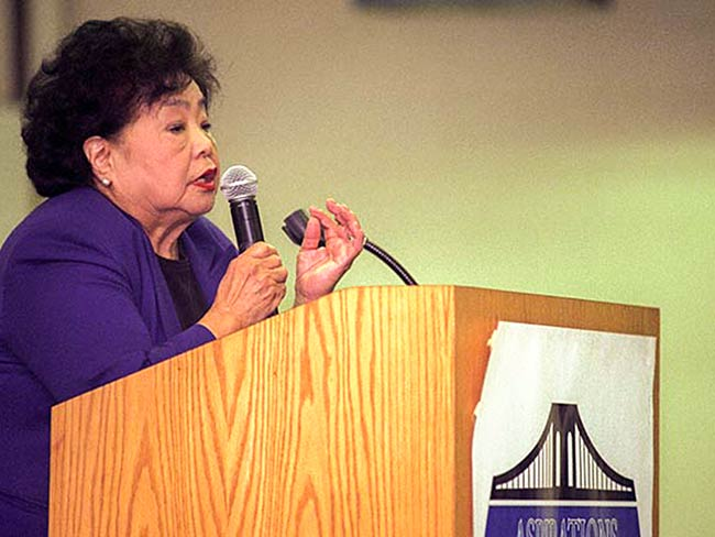 Setsuko Thurlow at Aspirations High School