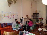 Clifton Daniel interviews Setsuko Thurlow at Dupuy's Landing