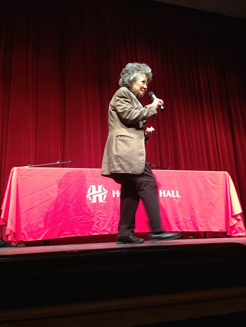 Shigeko Sasamori at Holland Hall