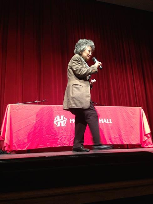 Shigeko Sasamori at Holland Hall