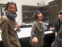 Toshiko Tanaka with Hayato Nakao and Marie Cochrane