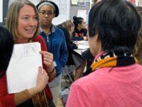 Booker T art teacher Jennifer Brown