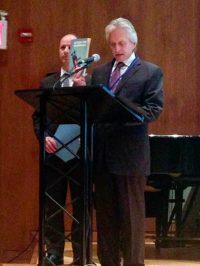 Michael Douglas, UN Peace Ambassador with Action for Disarmament
