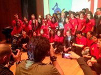Students at Action for Disarmament launch