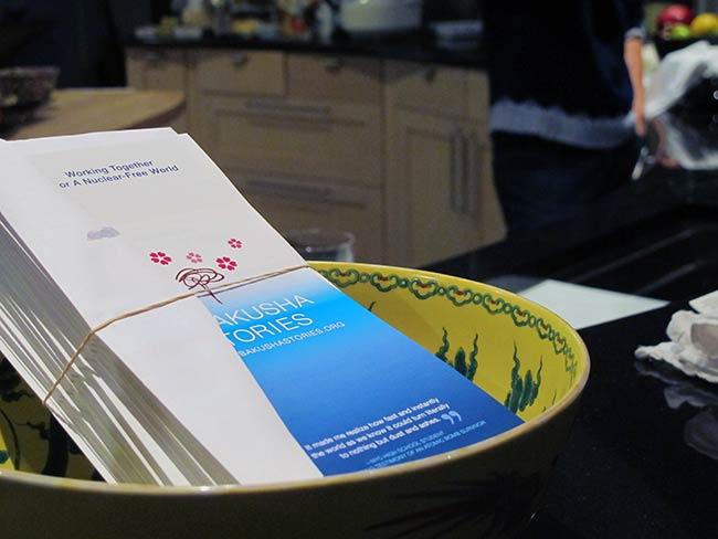Hibakusha Stories brochures