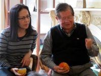 Rachel Clark and Michio Hakariya