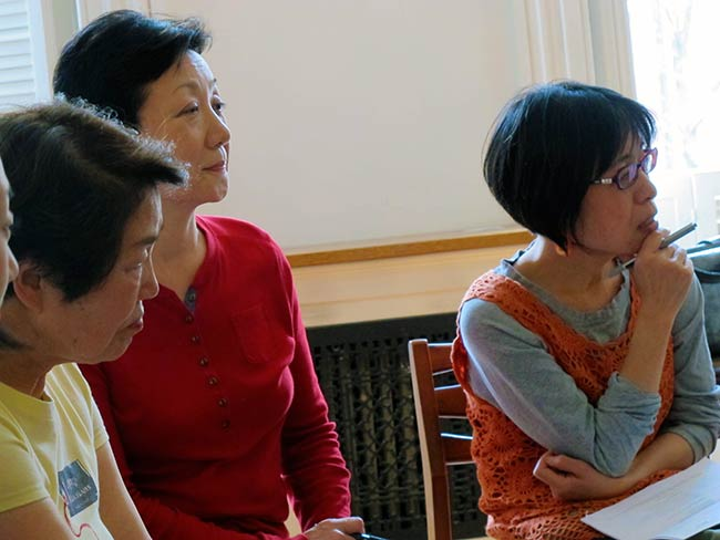 Nobuko Sugino, Mitchie Takeuchi and Miyako Taguchi